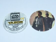 Star Wars Trilogy Tazos Han, Leia & Lando Variations Numbers 22 23 24 29 or 35