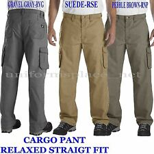 Mens Dickies Pants Relaxed Straight Fit Cargo Work pant WR541 Ripstop 30 - 44