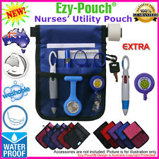 Quality Purple Blue Ezy-Pouch® NURSE POUCH BAG POCKET, Pick a Color & Free Gift