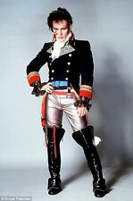 80's Adam Ant Costume ACCESSORIES - Wig , Boots , Make Up , Toy Weapon