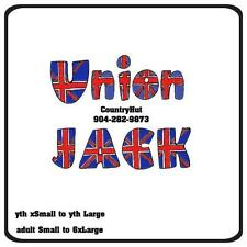 T-shirt - Your Name in -- UNION JACK british flag - personalized custom