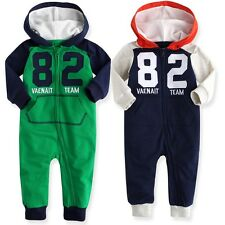 "NWT Vaenait Baby Newborn Toddler Girl Boy 's Hoodie One-Piece ""Vaenait Team 82"""