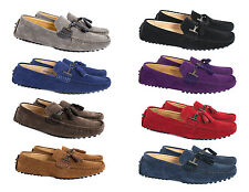 MEN'S MOCCASIN/LOAFERS WITH TASSEL DESIGN AND UNIQUE COMFORT/DRIVING SOLE