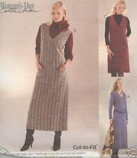 McCall's 3378 Misses'/Miss Petite Dress And Jumper In Two Lengths Sewing Pattern