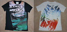 Aeropostale Mens 87 Multi-Colored Graphic T-Shirt 2 colors & sizes available