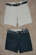Abercrombie & Fitch PRESTON PONDS Belted Casual Shorts NWT many available **