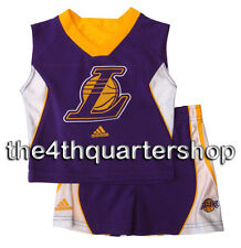 Los Angeles Lakers Newborn Infant Baby Toddler  2pc T-Shirt Tank & Shorts Set