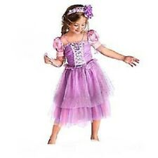RaPuNzEl Costume+Floral Jewel Headband~Girls 5/6 - 7/8~NWT~Disney Store~TANGLED