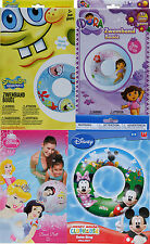 Disney Character Mickey Mouse, Princess, Sponge Bob, Dora Beach Ball, Swim Ring