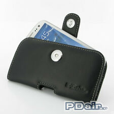 PDair Leather Case for Samsung Galaxy S III S3 GT-i9300 (P01 Pouch With Clip)
