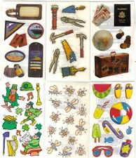 Set of 2 STICKER SHEETS ASSORTED FAMILY MEMORIES  FMI Frances Meyer 100+ Choices