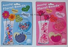 AMAZING FLORAL BEADS – PLANTS & FLOWERS - FEEDS & WATERS - LASTS 6 MONTHS – NIP