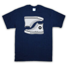 RETRO OLD SCHOOL TRAINERS SNEAKERS BASKETBALL BOOTS T SHIRT ALL COLOURS AND SIZE