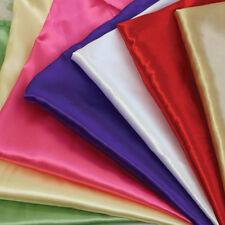 Satin Dress Fabric - Soft Quality
