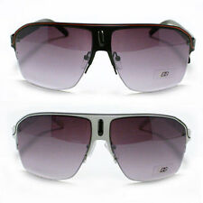 Mens Sport Aviator Sunglasses Half Rim DG Eyewear Fashion New (7 Colors)