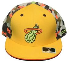 New! Miami Heat - Fitted 3D Embroidered Cap - Reebok Camo Kolors