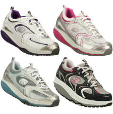 LADIES SKECHERS SHAPE UPS FITNESS TRAINERS SIZE UK 3-8 VARIOUS STYLES & COLOURS