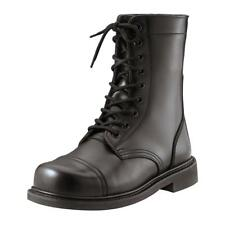 Black Military Style Steel Toe Combat or Jump Boots