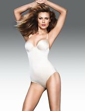 FLEXEES DECADENCE BODY BRIEFER #2756 BEIGE NWT