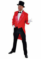 Deluxe RED Tailcoat -Circus / Ring Master / Show   - Gents