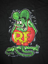 "Hot Rod Rat Rod ""Rat Fink"" Black T-Shirt"
