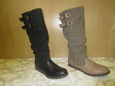 Ladies Coco Knee High Boots Available in 2 colours tan & black L9328