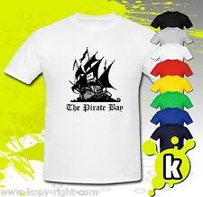 The Pirate Bay Tribute T-Shirt Gift