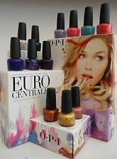 OPI NAIL POLISH ✿✿✿  Euro Centrale ✿✿ 12 NEW COLOURS TO CHOOSE  1 X 15ml