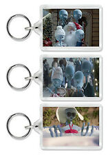 Argos Aliens Keyring / Bag Tag - Choose from 8 images! *Fun Unique Gift!*