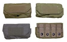 Eagle MOLLE 12 Round Shot Shell Pouch - choice of coyote, khaki, ranger green