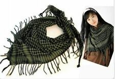 Fashion Unisex Checkered Arab Shemagh Grid Neck Scarf Wrap HOT