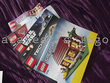 New and used lego instructions multi listing (1.45)