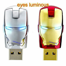 Iron man model 4-32GB USB 2.0 Enough Memory Stick Flash pen Drive