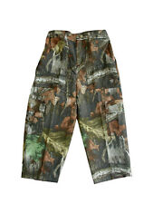 NWT Boys Advantage Timber 6 Pocket Cargo Camo Pants