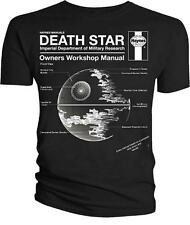 Star Wars Death Star Haynes Owners Workshop Manual T Shirt OFFICIAL