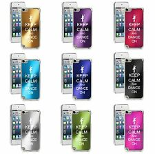 Apple iPod Touch 5th 6th Generation Hard Case Cover Keep Calm and Dance On
