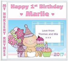 1st Birthday - Girls First Birthday, Personalised Gifts for Babies & Children