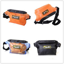 Waterproof Underwater Waist Pack Bag Submersible Swimming Diving 20-meter Depth