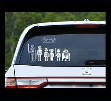 Star Wars Family Car Decals - Build Your Own Family