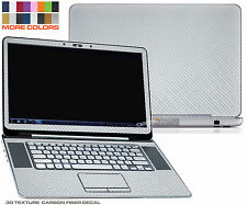 """Texture CARBON Fiber skins decal for Dell XPS 15z with 15.6"""" screen case cover"""
