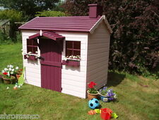 New Wooden Country Cottage Playhouse - NEW Painted or Unpainted