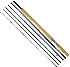 Shakespeare Expedition XT Salmon Travel Fly Rods, 15ft 14ft 13ft 6 piece Tube