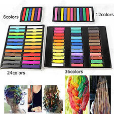 New Temporary Non-toxic Hair Color Soft Hair Dye Chalk Hair Pastels Kit DIY Set