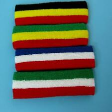 Admcity Sports Headband Sweat Head Band Red White Blue Cotton