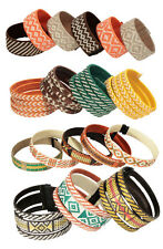 Cana Flecha Bracelets Handmade in Colombia | Fair Trade | 3 in 1, Spiral, Sized