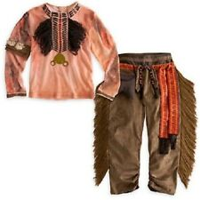 DeLuXe~TONTO Costume or Headdress~Wig + Crow~NWT~Disney Store~The Lone Ranger