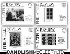 The Philatelic Review Volumes 1-6 (21 issues) Full of GB Articles and Research