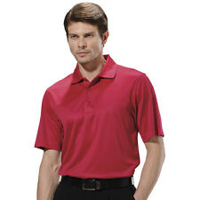 Monterey Club Mens Dry Swing Mini Check Texture Jacquard Golf Polo Shirt #1082
