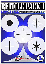 Cheat Gear Aim Sim Black Ops 2 XBOX 360 Reticle Pack 1 Large