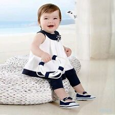 Kids Girls Baby Tops+Pants 2 PCS Set Outfits 0-3 Years Flowers Shirts Clothes